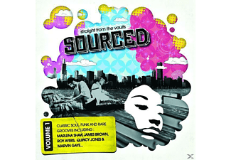VARIOUS - Sourced-Straight From The Vaults - (CD)