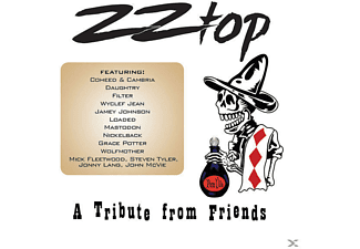 VARIOUS - ZZ TOP-A TRIBUTE FROM FRIENDS [CD]