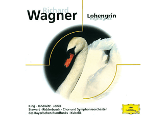 VARIOUS, King/Janowitz/Jones/SOBR/+ - Lohengrin (Qs) - (CD)
