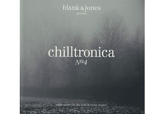 Blank & Jones, VARIOUS - Chilltronica No.4 (Deluxe Hardcover Package) [CD]