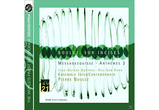 ENS.INTERCONTEMP., Boulez,Pierre/Kang,Hae-Sun - Sur Incises/Messagesquisse/Anthemes 2 - (CD)