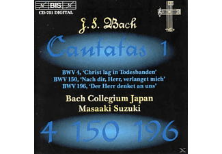 Bach Collegium Japan - Sämtliche Kantaten Vol.1 - (CD)