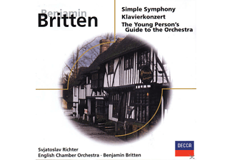 English Chamber Orchestra, London Symphony Orchestra, Richter Svjatoslav - Simple Symphony/Klavierkonzert Op.13 - (CD)