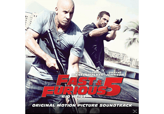 VARIOUS, OST/VARIOUS - FAST AND FURIOUS 5 - RIO HEIST [CD]