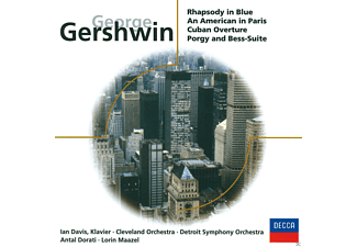 VARIOUS - Rhapsody In Blue / An American In Paris / Cuban Overture / Porgy And Bess-Suite - (CD)