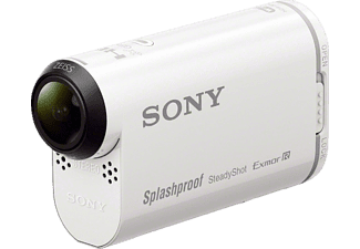SONY HDR-AS200 V.CEN Action Cam, Bildstabilisator, WLAN, Near Field Communication, GPS, Weiß