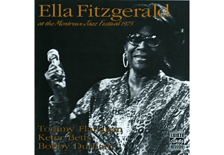 Ella Fitzgerald - AT THE MONTREUX JAZZ FESTIVAL 1975 - (CD)