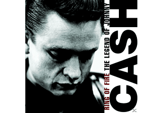Johnny Cash - RING OF FIRE - THE LEGEND OF JOHNNY CASH [CD]