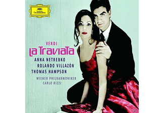 VARIOUS, Netrebko,Anna/Villazon,Rolando/Hampson,Thomas/WP/+ - La Traviata (Ga) - (CD)