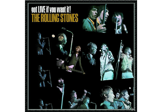 The Rolling Stones - GOT LIVE IF YOU WANT IT - (CD)