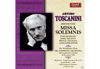 Toscanini/Westminster Choir/NBC Sym.Orch. - Missa Solemnis - (CD)