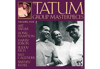 Art Tatum, Art - Group Tatum - The Tatum Group Masterpieces Vol.5 - (CD)
