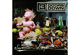 3 Doors Down - SEVENTEEN DAYS - (CD)