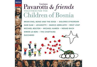 Meat Loaf, Luciano Pavarotti, VARIOUS, Eno, Bono, Bolton, Pavarotti/Bono/Eno/Bolton/Meatloaf/+ - Pavarotti & Friends Child.Of Bosnia - (CD)