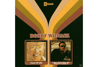 Bobby Womack - FACTS OF LIFE/I DON T KNOW WHAT THE WORLD IS COMIN - (CD)