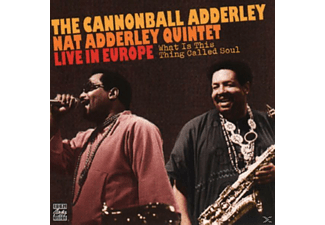 Cannonball - Quintet Adderley, Cannonball Adderley - What Is This Thing Called Soul? [CD]