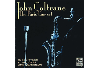 John Coltrane - THE PARIS CONCERT - (CD)