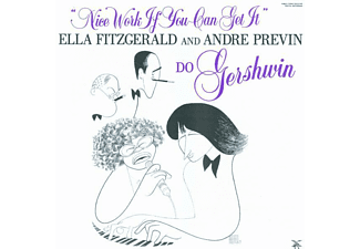 Ella Fitzgerald, Fitzgerald, Ella / Previn, André - Nice Work If You Can Get It - (CD)