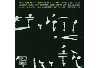 VARIOUS, Coltrane/Jaspar/Sulieman/Young - INTERPLAY FOR 2 TRUMPETS & 2 TENORS - (CD)
