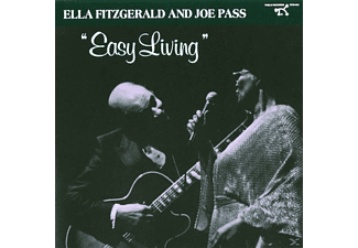 Ella Fitzgerald, Fitzgerald, Ella / Pass, Joe - Easy Living - (CD)