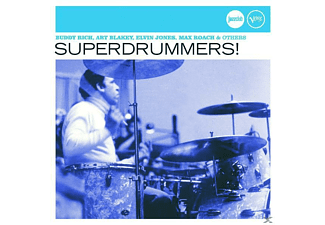 VARIOUS - SUPERDRUMMERS! (JAZZ CLUB) - (CD)