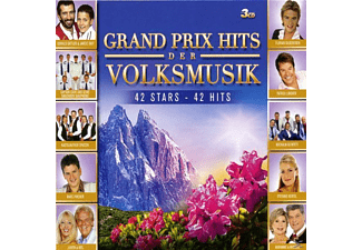 VARIOUS - Grand Prix Hits Der Volksmusik-42 Stars-42 Hits [CD]