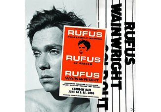 Rufus Wainwright - Rufus Does Judy at Carnegie Hall (CD)