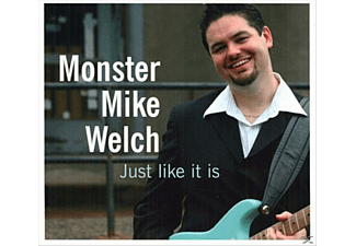 "Mike ""monster"" Welch - JUST LIKE IT IS - (CD)"
