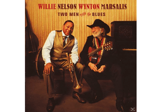 Willie Nelson, Nelson, Willy / Marsalis, Wynton - Two Men With The Blues [CD]