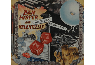 Relentless 7, Ben Harper & Relentless7 - White Lies For Dark Times [CD]