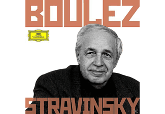 Bp, Cso, Co, Boulez, Boulez/BP/CSO/CO/+ - Boulez Conducts Stravinsky [CD]