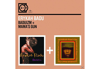 Erykah Badu - 2 For 1: Baduizm/Mama's Gun [CD]