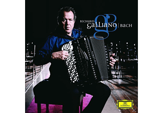 Richard Galliano - Bach - (CD)
