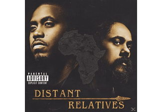 "Nas + Marley, Damian ""jr.Gong"" DISTANT RELATIVES HipHop CD"