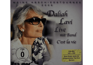Daliah Lavi - C'est La Vie-Live (Fan Box) - (CD + DVD Video)