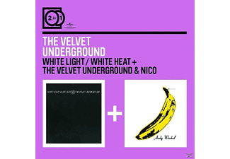 Velvet;The Velvet Underground - 2 For 1: White Light White Heat/Velvet Underground & Nico - (CD)