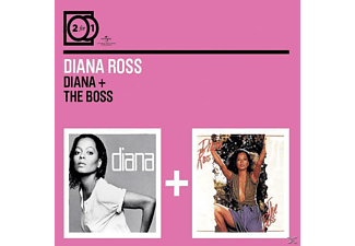 Diana Ross - 2 For 1: Diana/The Boss [CD]