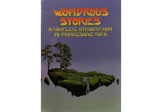 VARIOUS - Wondrous Stories: A Compl.Intro.To Prog Rock [CD]