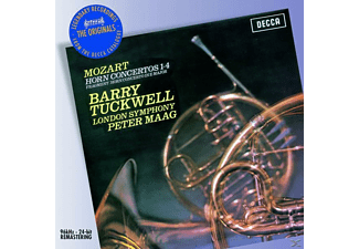 London Symphony Orchestra, B. Tuckwell, P. Maag, Tuckwell,B./London Symphony Orchestra/Maag,P. - Hornkonzerte 1-4/+ - (CD)