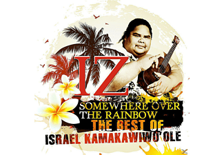 Israel Kamakawiwoʻole - SOMEWHERE OVER THE RAINBOW - THE BEST OF IZ - (CD)