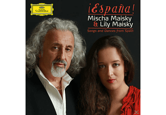 Mischa Maisky, Lily Maisky, Maisky,Mischa/Maisky,Lily - Espana Songs And Dances From Spain [CD]