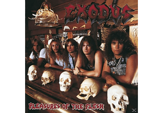 Exodus Pleasures of the Flesh: Deluxe Edition CD