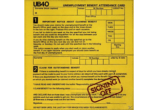 UB40 - Signing Off - (CD)