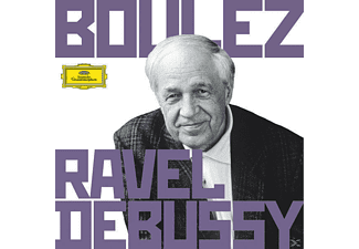 Pierre Boulez - Boulez Conducts Debussy & Ravel - (CD)