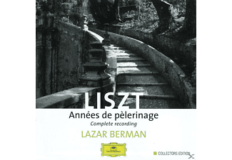 Berman Lazar - Annees De Pelerinage 1-3 [CD]