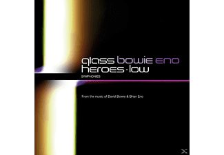 David Bowie, Brian Eno, Philip Glass, Glass,Philip/Bowie,David/Eno,Brian - Low Symphony/Heroes Symphony - (CD)
