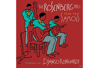 The Rosenberg Trio - Tribute To Django Reinhardt-Live In Samois - (CD)