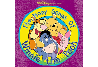 Winnie The Pooh - THE MANY SONGS OF WINNIE THE POOH - (CD)