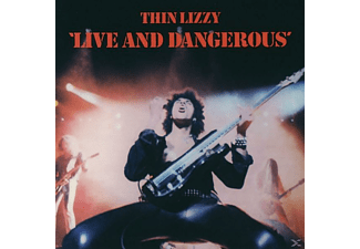 Thin Lizzy - LIVE AND DANGEROUS (DIGITAL REMASTERED) - (CD)