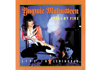 Yngwie Malmsteen - TRAIL BY FIRE - LIVE IN LENINGRAD - (CD)